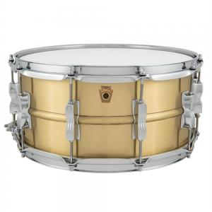 Ludwig Acro Brass Brushed Finish 14×6.5″ Snare