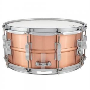 Ludwig Acro Copper Brushed Finish 14×6.5″ Snare