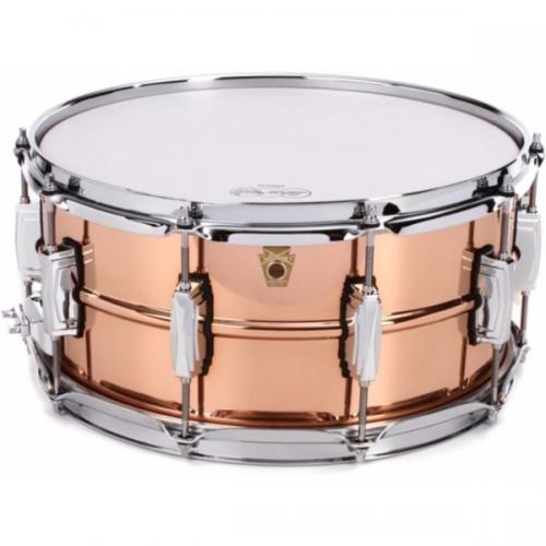 "Ludwig LC662 Copper Phonic 14x6.5"" -  Smooth Polished Shell"