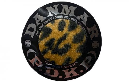 Beater pad: Power disc kick pad Leopard
