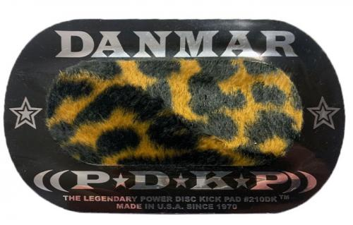 Beater pad: Power disc double kick pad Leopard