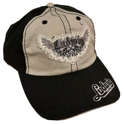 Ludwig Custom Hat Black/Grey