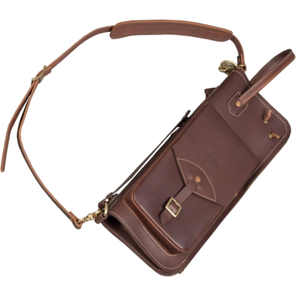 Tackle Leather Stick Case w/Patented Stick Stand - Brown