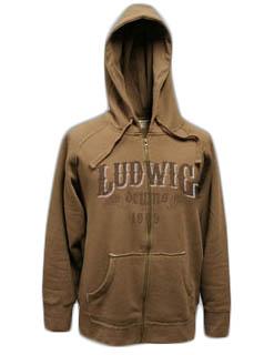 Ludwig, Vintage Full Zip Hoody, strl XL