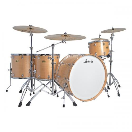 Ludwig Centennial Zep Set NM, Natural Maple