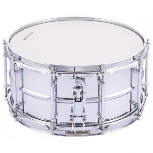Ludwig LW6514SL Supralite 14×6.5″ – Polished Steel Snare Drum