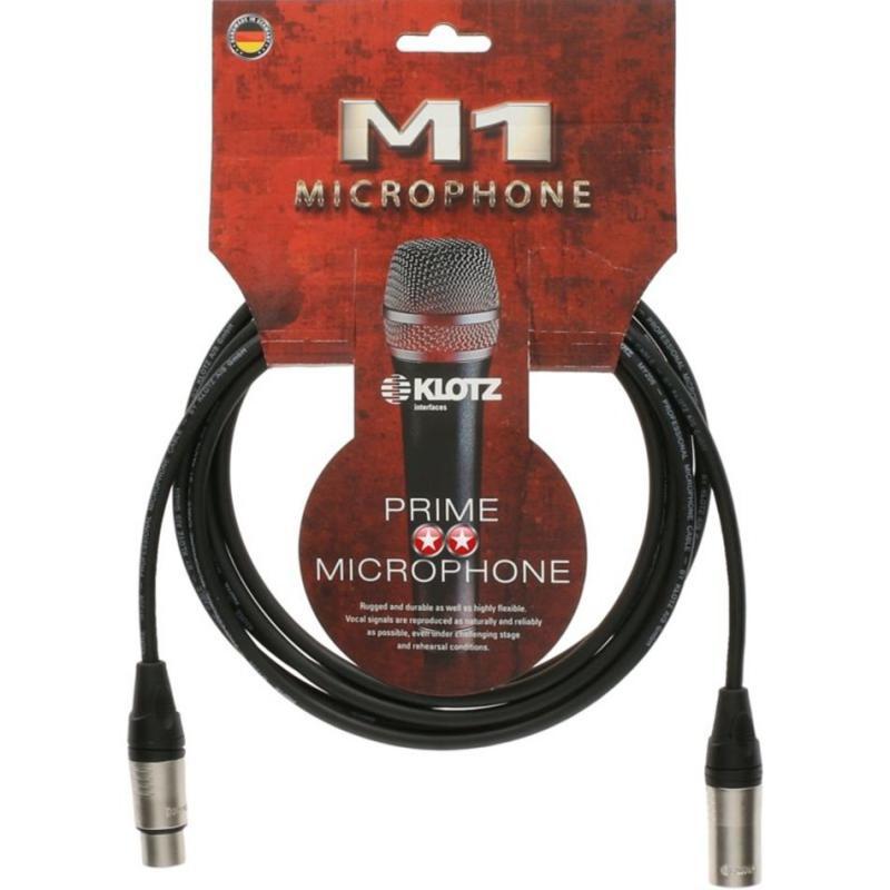 Mikrofonkabel XLR-XLR, Klotz Prime
