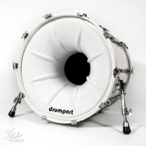 Drumport - Megaport och Glowport