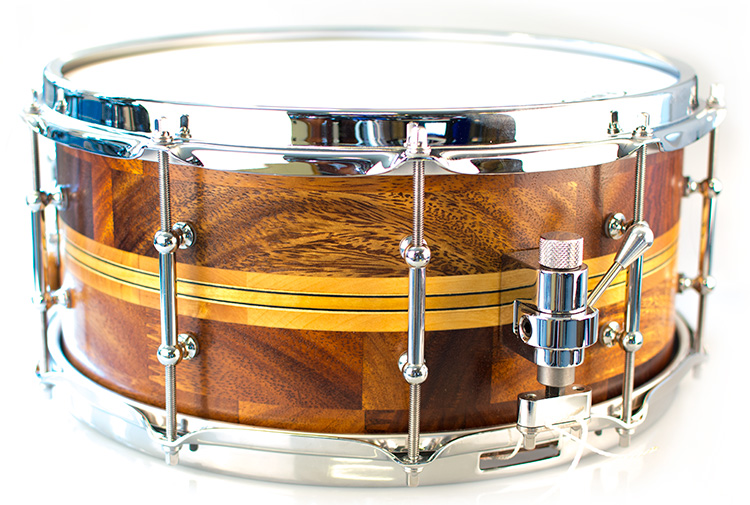 Mahogany/birch 14x6, BeatHeadDrums signature series