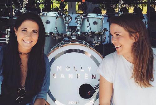 Tryck till Molly Sandén och Julia Ivansson