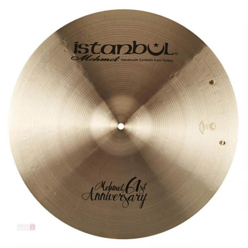 Istanbul 21″ 61st Anniversary Classic Ride Sizzle