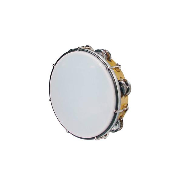 """Hayman MT6-082-NE Drum Tambourine 8"""" - Tunable"""