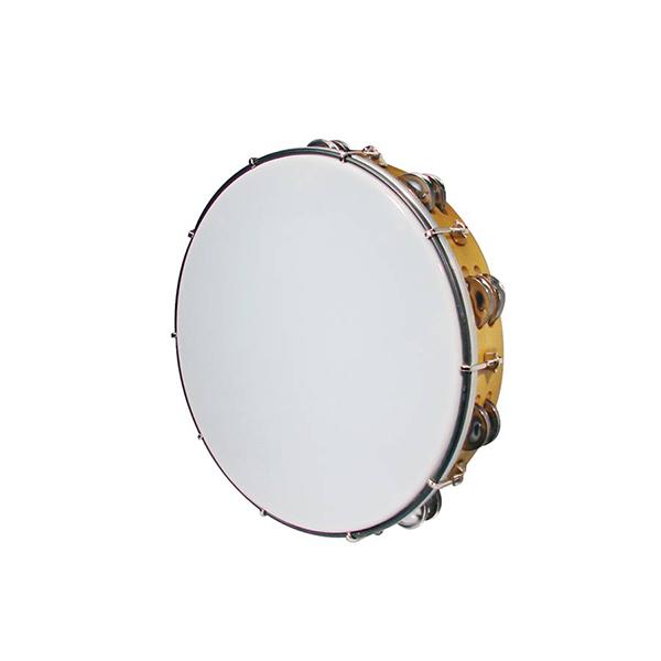 """Hayman MT6-122-NE Drum Tambourine 12"""" - Tunable"""