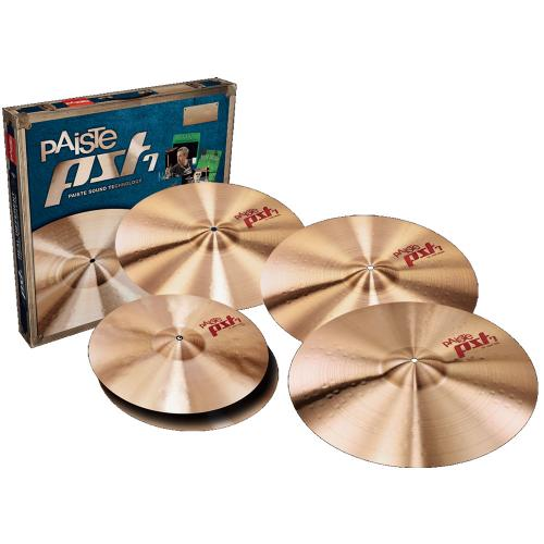 "Cymbalpaket - PST 7 Light/Session 14"", 18"", 20"" + FREE 16"" Bonus Crash, Paiste"