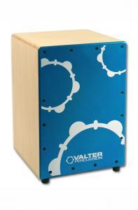 NanoBox blå - cajon för barn, Valter Percussion