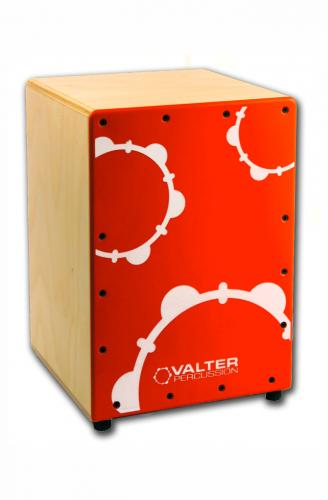 NanoBox röd - cajon för barn, Valter Percussion