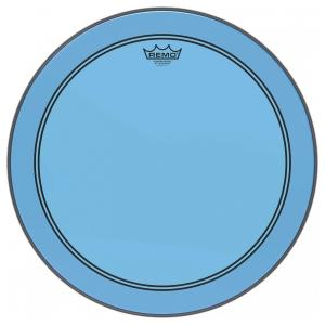 "20"" Colortone Blue Powerstroke 3 bastrumskinn, Remo"