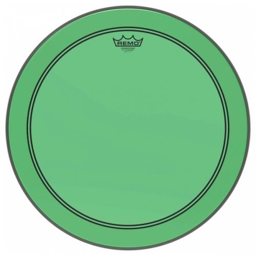 "18"" Colortone Green Powerstroke 3 bastrumskinn, Remo"