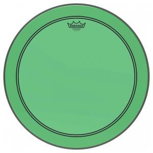 "20"" Colortone Green Powerstroke 3 bastrumskinn, Remo"