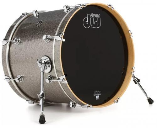"Bastrumma DW Performance 20x16"", Titanium Sparkle"