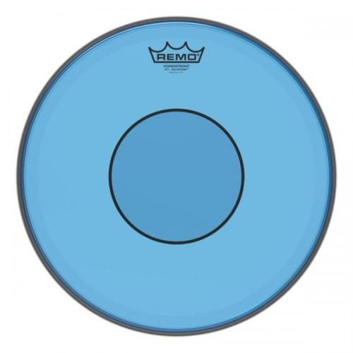 "13"" Colortone Blue Powerstroke 77 virvelskinn, Remo"