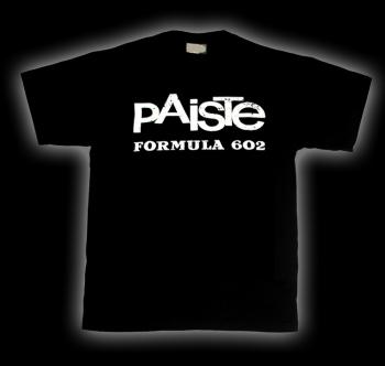 Paiste Formula 602 T-shirt, Paiste