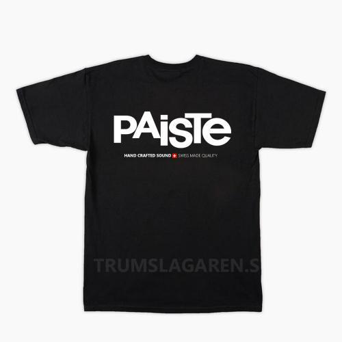 Paiste Logo T-shirt, Paiste