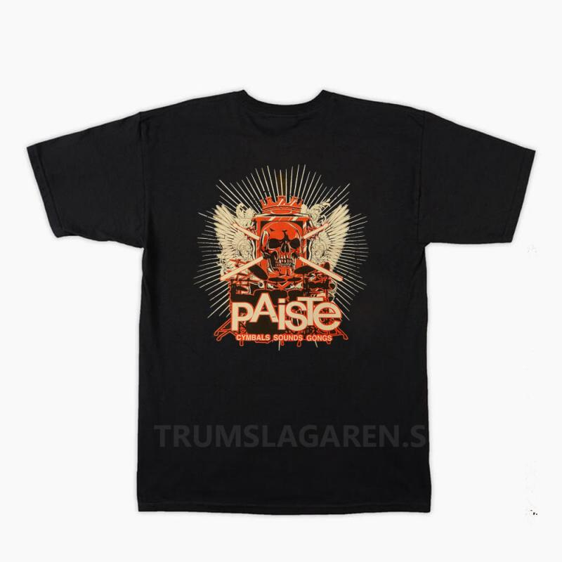 Paiste Skull T-shirt, Paiste