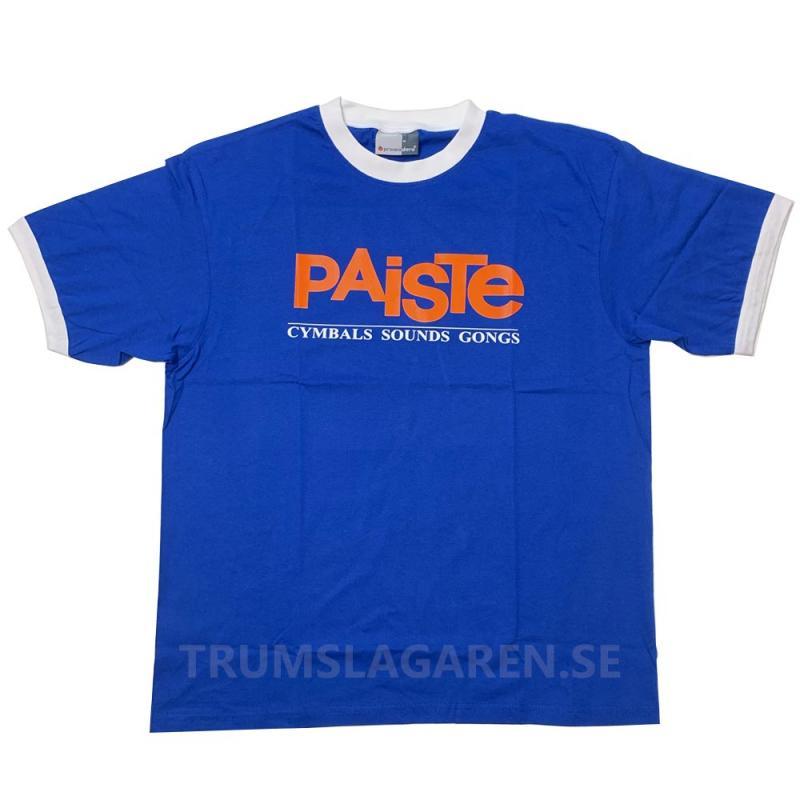 Paiste Vintage Blue T-shirt, Paiste