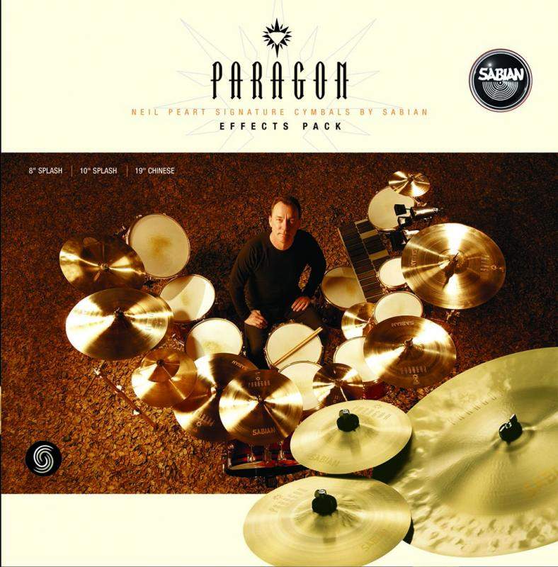 Paragon Neil Peart Effects Pack, Sabian