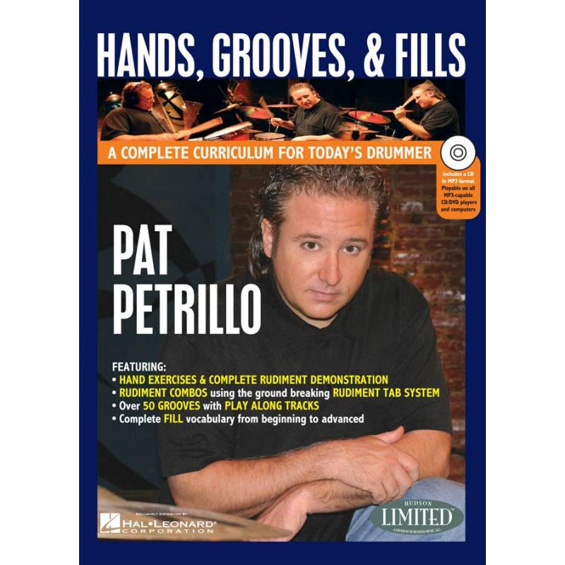 Pat Petrillo: Hands, Grooves And Fills (Book + DVD)