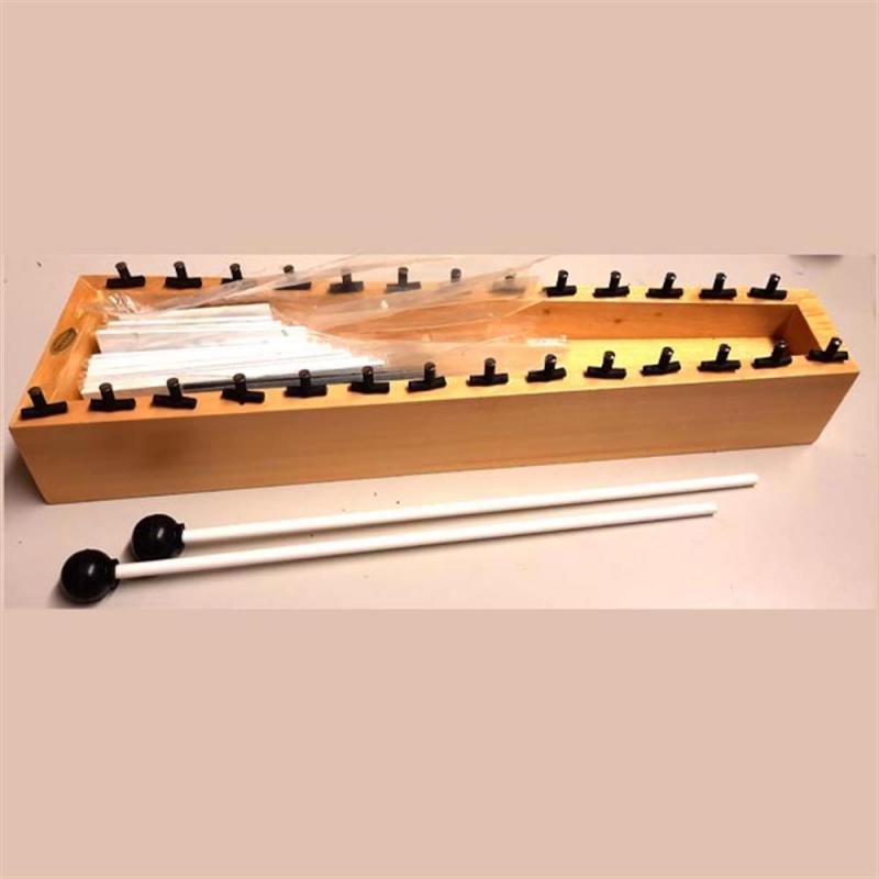 Dixon Glockenspiel 13-Notes (C3-A4) Steel w/Mallets