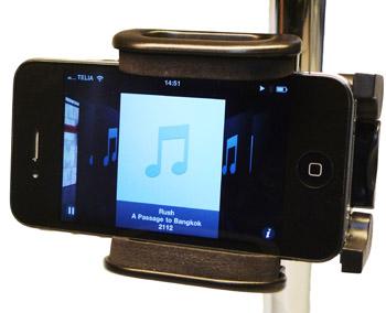 Mobilhållare för stativ