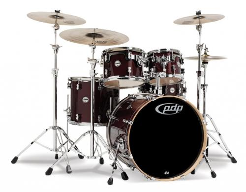 PDP Concept Maple, Transparent Cherry, 5-delars set