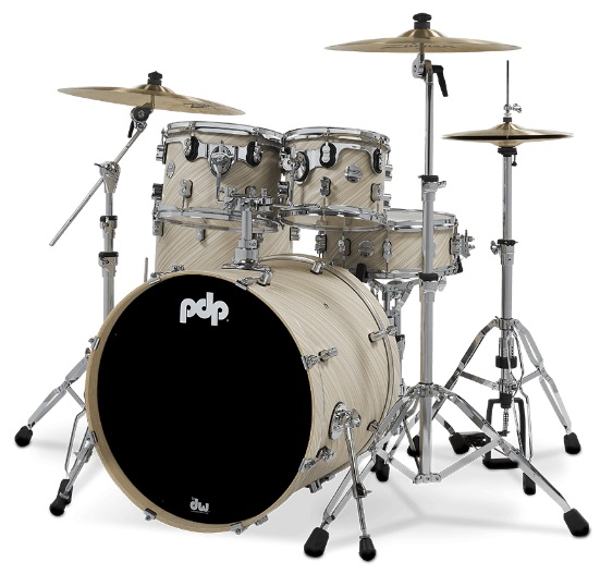 PDP by DW Shell set Concept Maple Finish Ply Twisted Ivory, PDCM2215TI