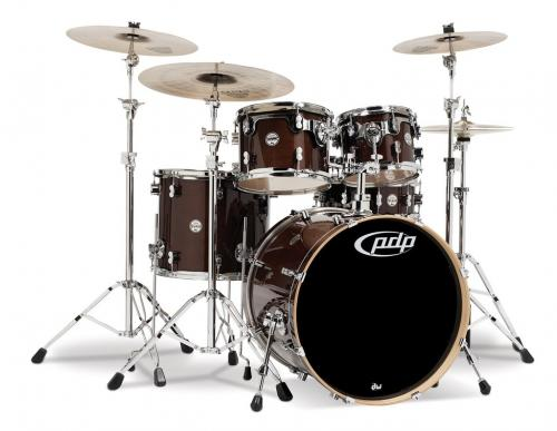 PDP Concept Maple, Transparent Walnut, 5-delars set