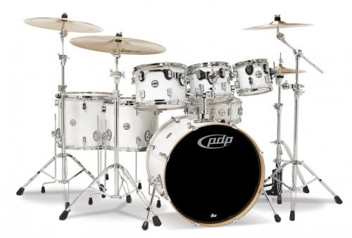PDP Concept Maple, Pearlescent White, 7-delars set