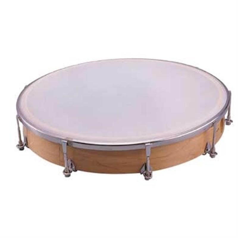 Dixon 10″ Frame Drum Wood w/Mallet