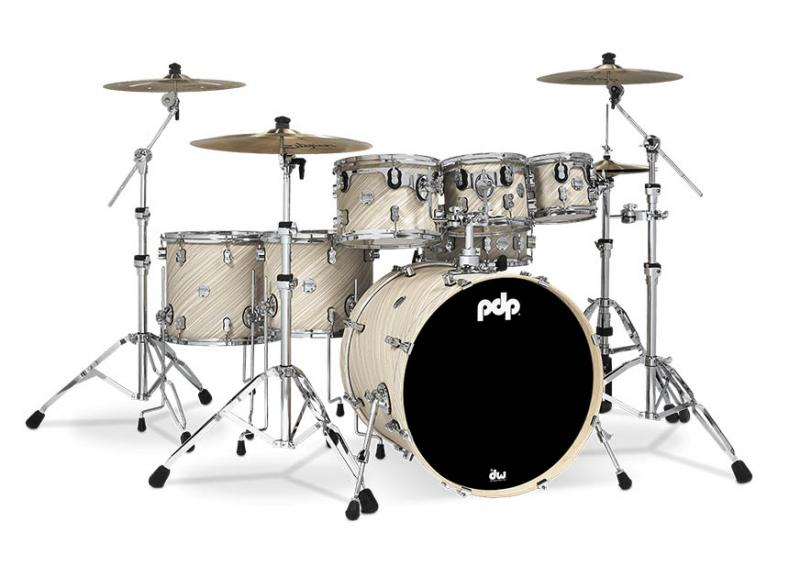 PDP by DW Shell set Concept Maple Finish Ply Twisted Ivory, PDCM2217TI