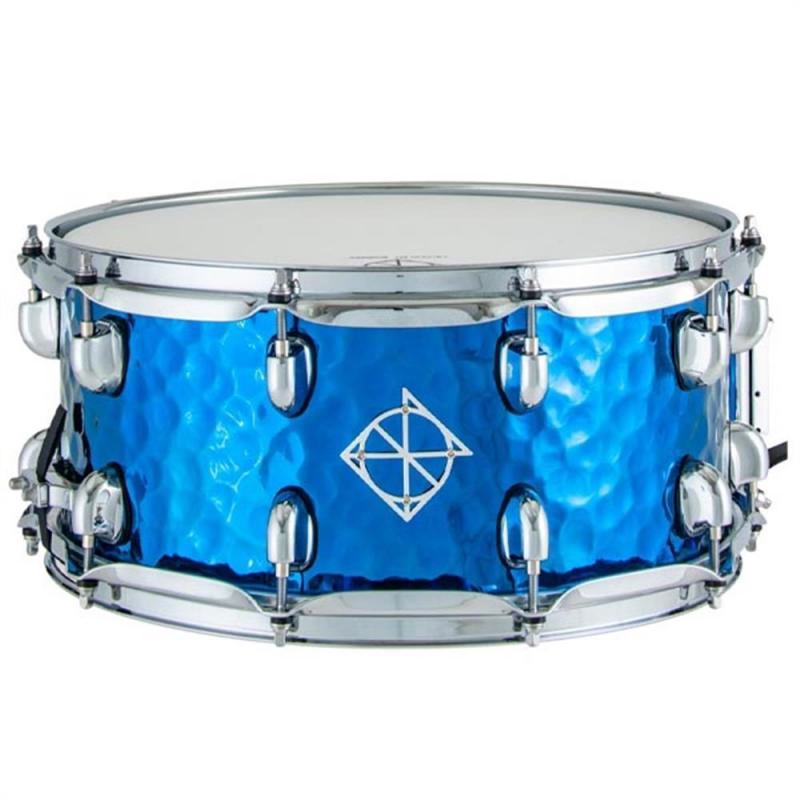 Dixon Cornerstone 14×6.5″ Blue Titanium Plated Steel Snare