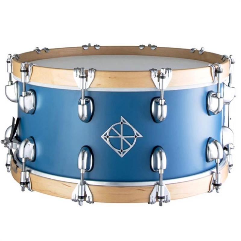 Dixon Cornerstone 14×6.5″ Peacock Blue North American Maple Snare