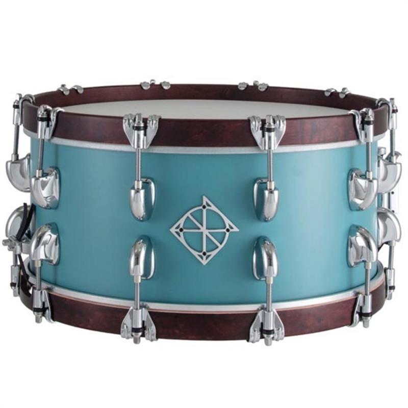 Dixon Cornerstone 14×6.5″ Quetzal Blue North American Maple Snare