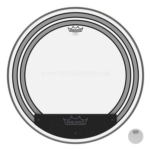 "20"" Powersonic clear bas, Remo"