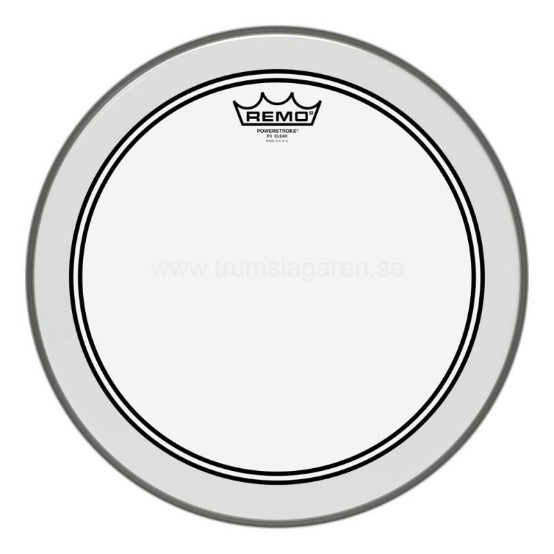 "10"" Powerstroke 3 clear, Remo"