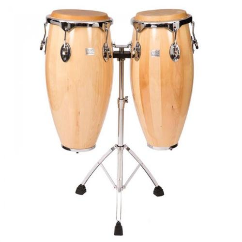 PP World Conga Set w/Stands – Natural