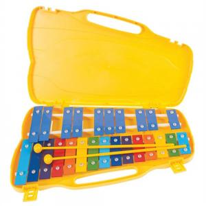 PP World Glockenspiel 25 notes (G5-G7) – Coloured Keys
