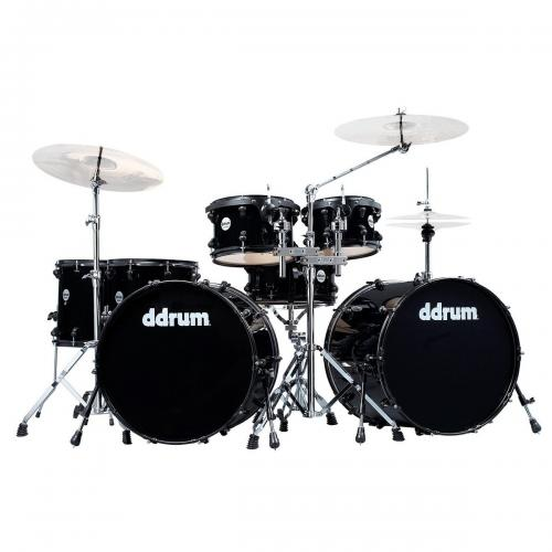 DDrum Journeyman Double Bass, Svart