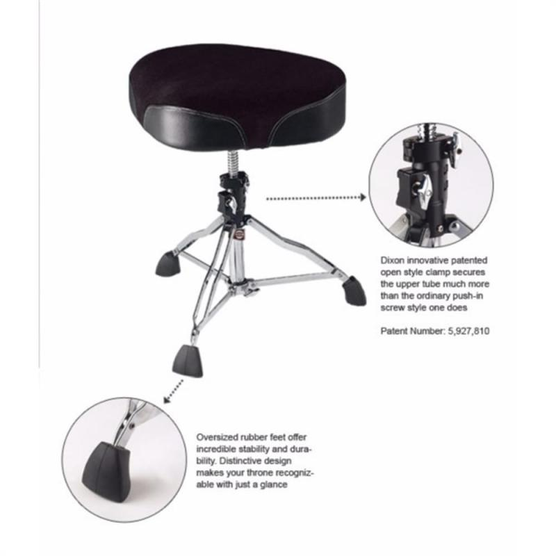 Dixon PSN-K904 Drum Throne Cordura/Vinyl Seat – Oversized