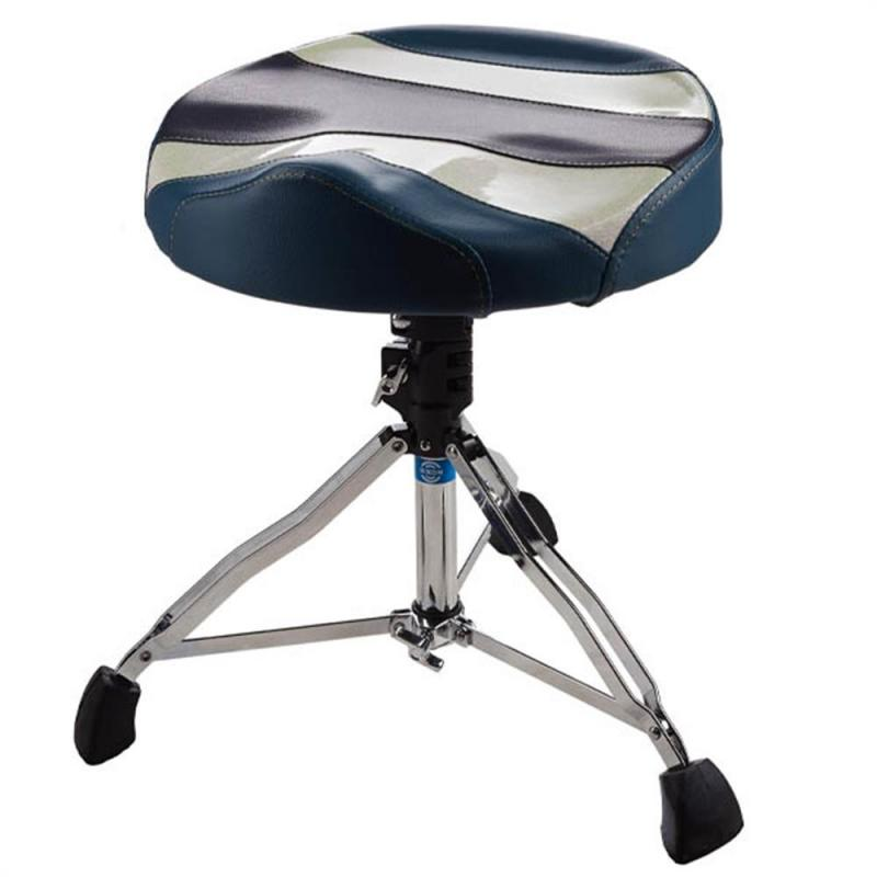 Dixon PSN-K904HM Drum Throne Cordura/Vinyl Seat – Oversized, Hydraulic Base