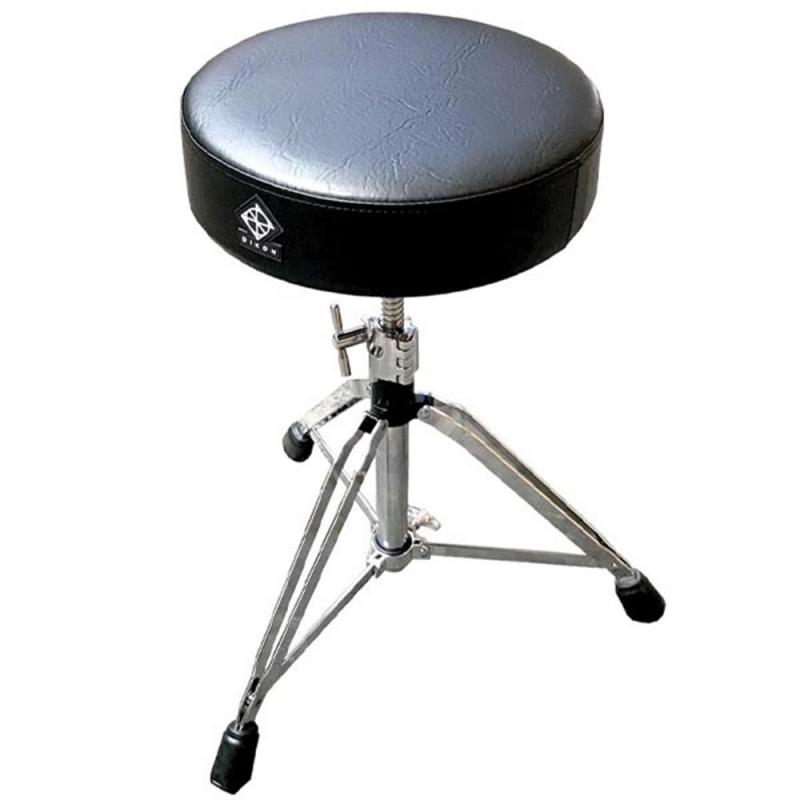 Dixon PSN90001 – Round Drum Throne Deluxe, Double Braced